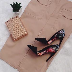 ASOS Camel Skirt